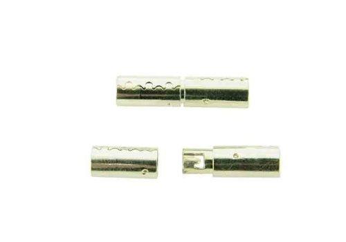 925/000 Silber Hohleslot ca. 20x4.5mm