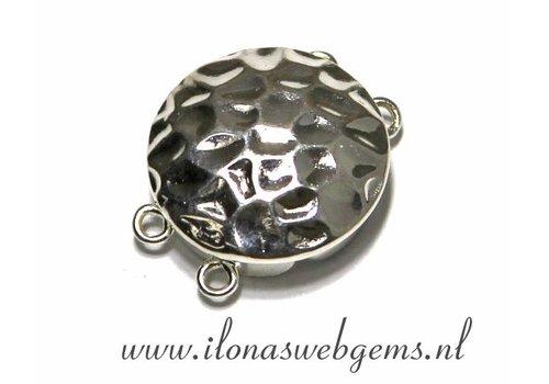 Sterling zilveren slotje ca. 17x13x6.5mm
