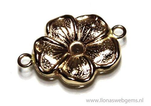 Gold füllte Stecker Blume