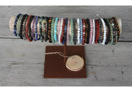 toonbankset 3: 100 stücke Edelstein Armband
