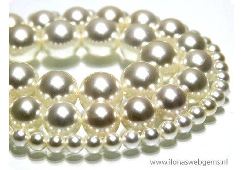 Shell Perle rund ca. 12mm