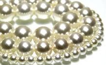 Shell Perle rund ca. 14mm