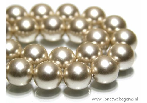 Shell Pearl round app.14mm