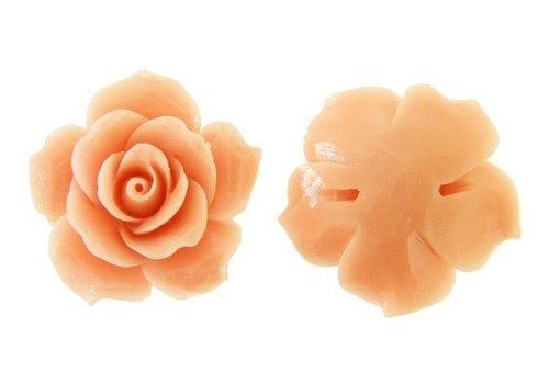 Koraal roos (kraal) roze