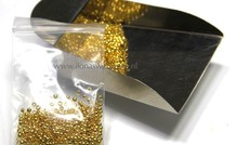Knijpkraaltjes rond goudkleur ca. 2.5mm