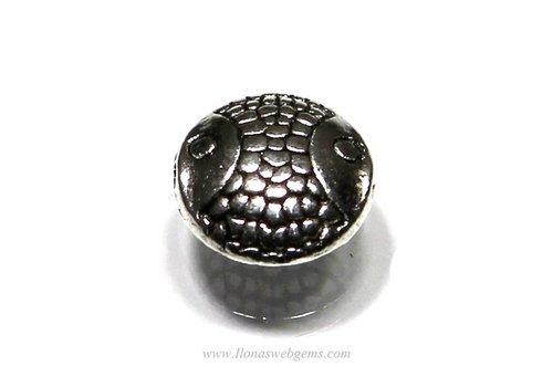 10 stücke Tibetanische Silber visje ca.10x10x5mm