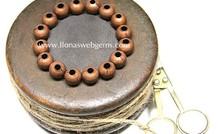 10 Stück Bronze Perle
