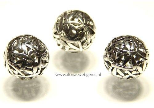 tin bead 6 pieces app. 24mm
