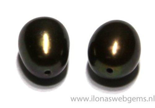 1 pair Fresh Water Pearls half pierced