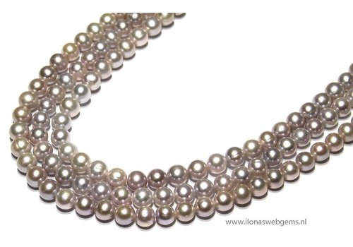 Fresh Water Pearls soft lila app. 8mm