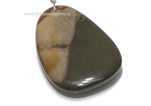 gemstone pendant Madagascar app.76x49x9mm