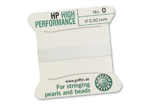 High Performance 2m 2 Nadeln NO 0 Weiss¸ - NO 0 0.30 mm