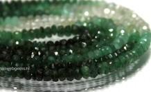 Smaragd Edelstein Perlen