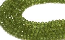 Peridot Edelstein Perlen