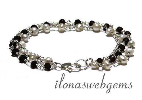 Inspiration: Sterling Silber Armband 1,2,3!