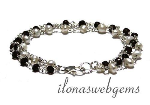 Inspiration: sterling silver bracelet 1,2,3!