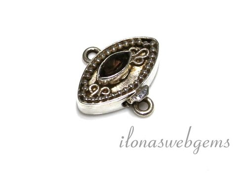 Sterling silver with box clasp