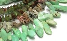 Chrysopras Edelstein Perlen