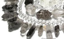 Bergkristalll Edelstein Perlen
