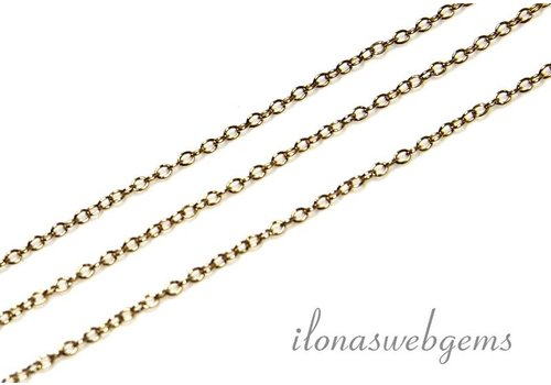 10 cm 14k / 20 Gold filled chains / chain