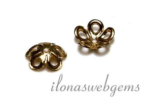 Gold gefüllte Perlen Kappe