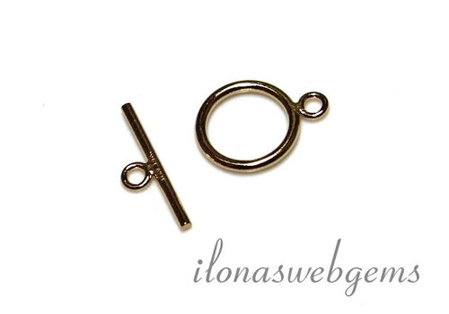 1 14k / 20 gold filled toggle clasp