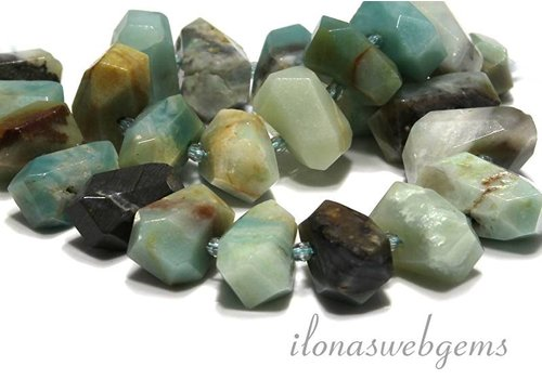 Amazonite beads free shape