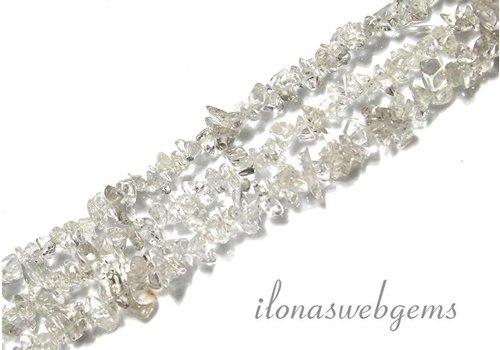 Bergkristal kralen split ca. 7mm