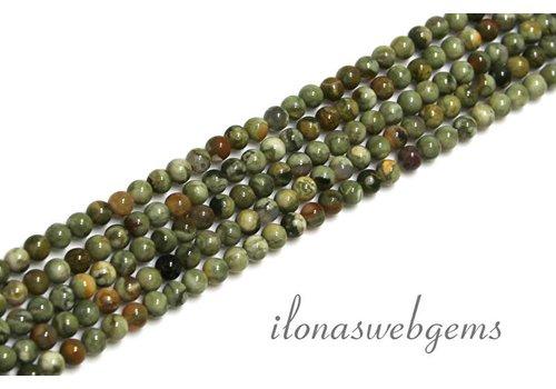 Rhyoliet Perlen mini ca. 3.3mm