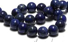 Lapis Lazuli Perlen rund ca. 16mm