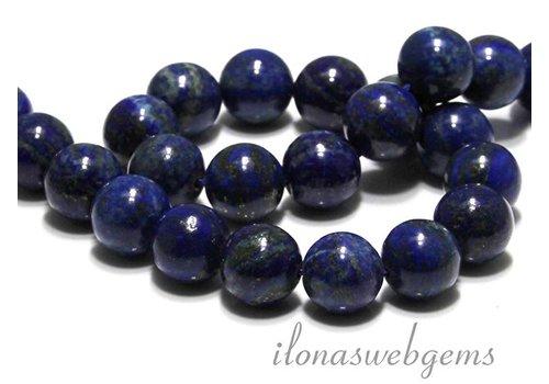 1 Lapis lazuli kraal rond ca. 16mm