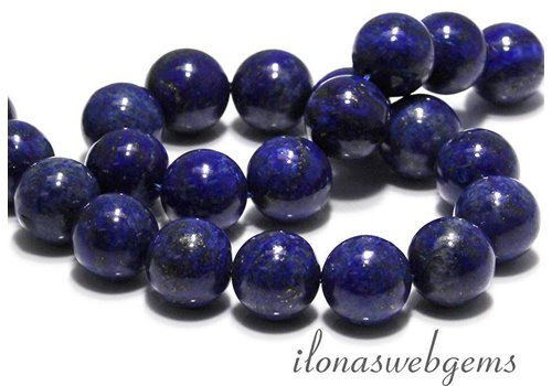 Lapis Lazuli beads round app. 18mm