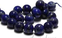 Lapislazuli Perlen rund ca. 18mm