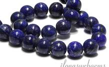 Lapis Lazuli Perlen rund ca. 14.5mm