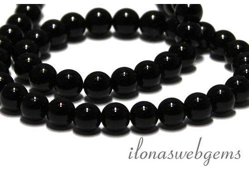 Onyx Perlen etwa 8mm