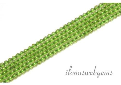 Peridoot beads mini app. 2mm