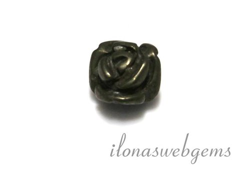 1 Edelstein Rose Pyrit ca. 10x8mm