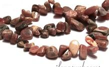 Rhodochrosit   Perlen ca. 10-18x5mm