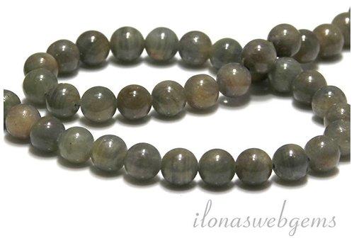 Saphir Perlen rund ca. 8.5mm