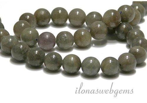 Saffier beads round app. 11mm