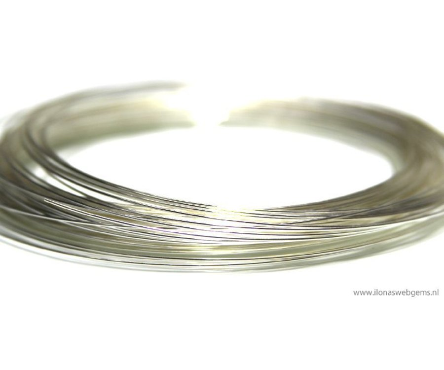 1cm Sterling Silber Draht weich ca. 0,5 mm / 24GA - Ilona\'s Webgems