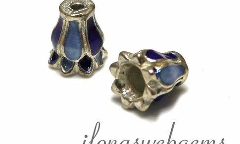 1 925/000 Silber Perlenkap ca. 10x8.5mm