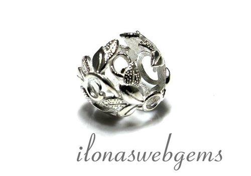 1 925/000 Silber Perlenkap