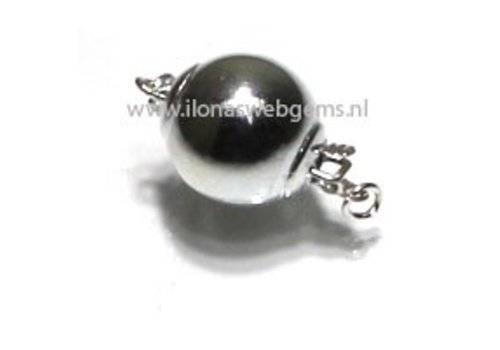 Sterling silver bowl ball 10mm