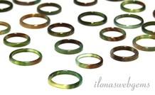 6 Stücke Agate Ring mix