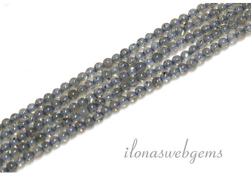 Labradorite beads mini app. 2mm