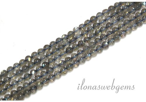 Labradorit Perlen mini ca. 3mm