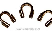 10 Stücke Vermeil Draht guard / Führungsdraht 5mm