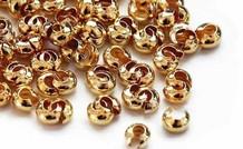 Gold-filled Kaschierkugeln