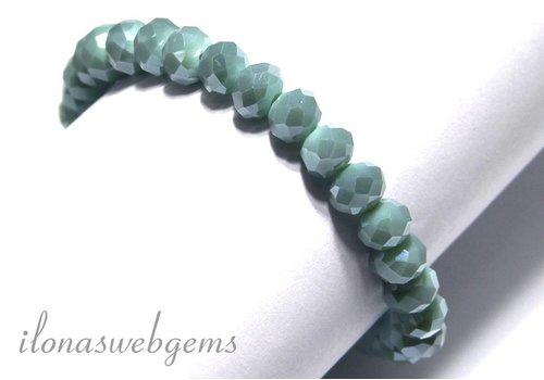 Swarovski style crystal bracelet app. 8x6mm